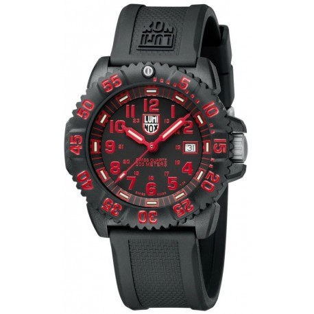 LUMINOX Navy Seal Colormark Red