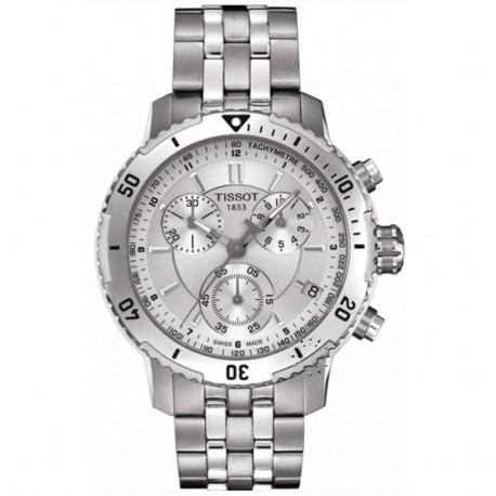 Tissot PRS 200 Silver Chronograph Dial Watch