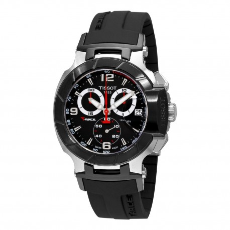 Tissot T-Race Black Chronograph Dial Watch