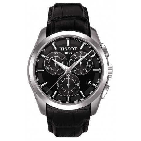 Tissot T-Trend Couturier Black Dial Chronograph