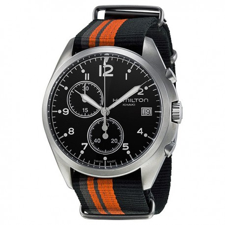 HAMILTON Khaki Pioneer Pilot Black Dial Men Watch
