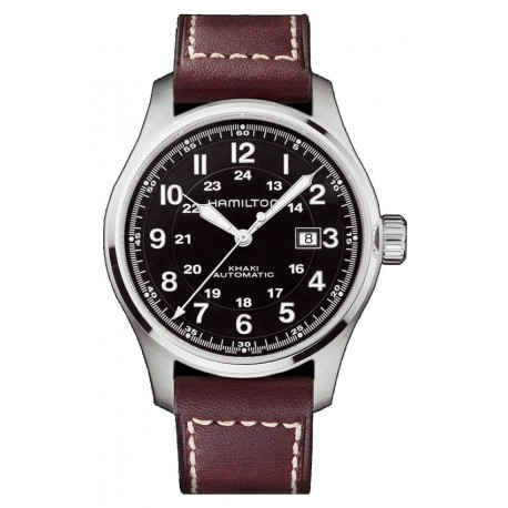HAMILTON Khaki Field Officers Automático