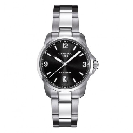Certina DS Podium Steel Black Dial