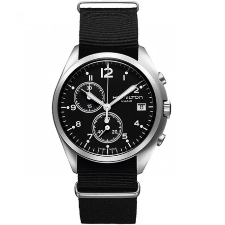 HAMILTON Khaki Aviation Pilot Pioneer Chrono Quartz