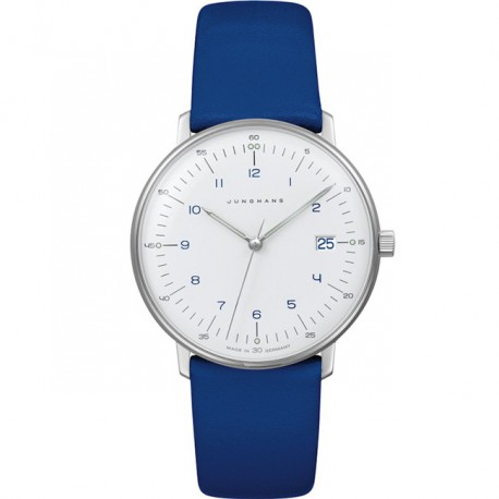 Junghans Max Bill Ladies Quartz Blue