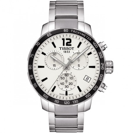 Tissot Quickster Chronograph Silver Dial