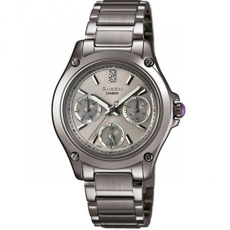 Casio Ladies' Sheen Ceramic SHE-3503D-8AER