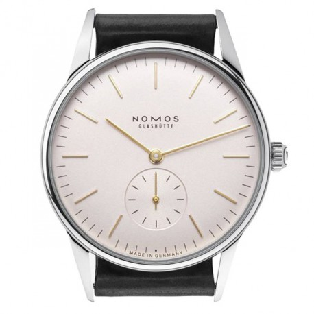 Nomos Orion Rose Glass Back