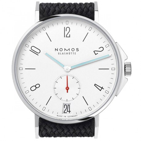Nomos Ahoi Datum Glass Back