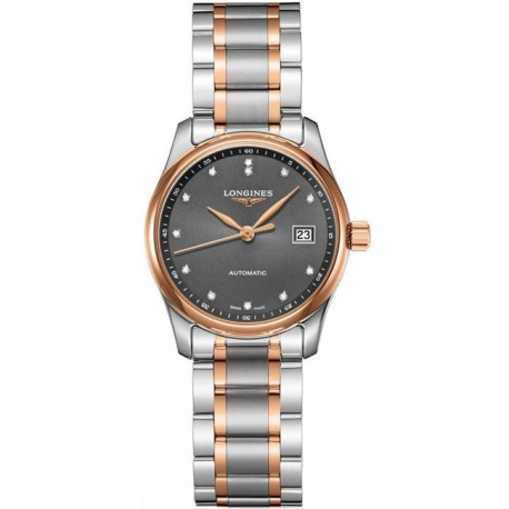 LONGINES Master Collection Anthracite Two Tone Ladies