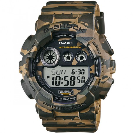 Casio G-Shock Army Camouflage Limited Edition Military OPS GD-120CM-5ER