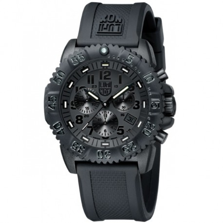 LUMINOX Navy Seal Colormark Chrono Blackout L3081BO