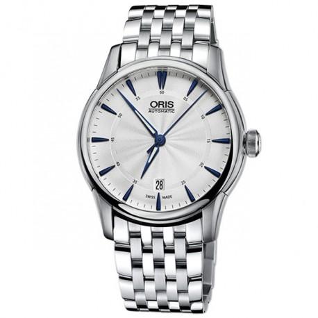 ORIS Culture Artelier Date Metal Bracelet 73376704031