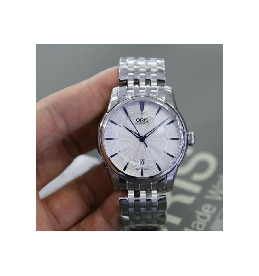 Oris Culture Artelier Date Metal Bracelet Relojes Marcas