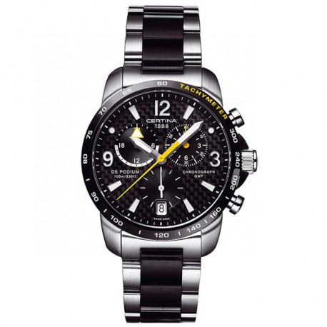 Certina DS Podium Big Size Chrono GMT C001.639.22.207.01