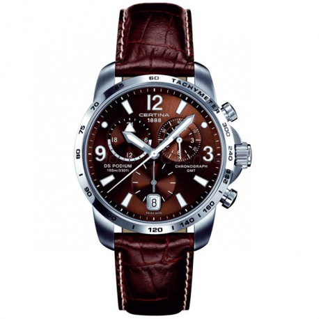 Certina DS Podium Big Size Chrono GMT C001.639.16.297.00