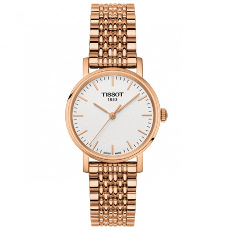 Tissot Everytime Rose Gold Ladies T1092103303100