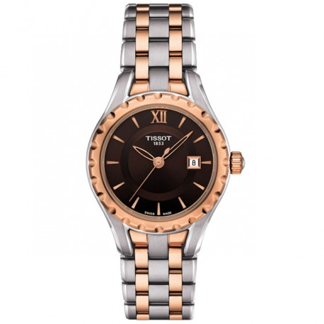 Tissot T-Trend Lady Brown Dial T0720102229800