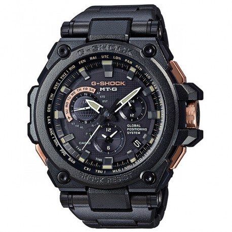 Casio MT-G Steel Black MTG-G1000RB-1AER