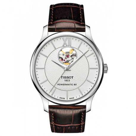 Tissot Tradition Powermatic 80 Open Heart T0639071603800