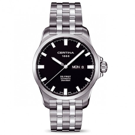Certina DS First Day-Date Automatic Unisex C0144071105100