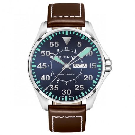 HAMILTON Khaki Aviation Pilot Day Date Auto H64715545