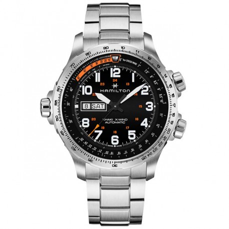 HAMILTON Khaki Aviation X-Wind Day Date H77755133