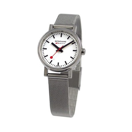 MONDAINE Ladies Quartz Evo Steel Band