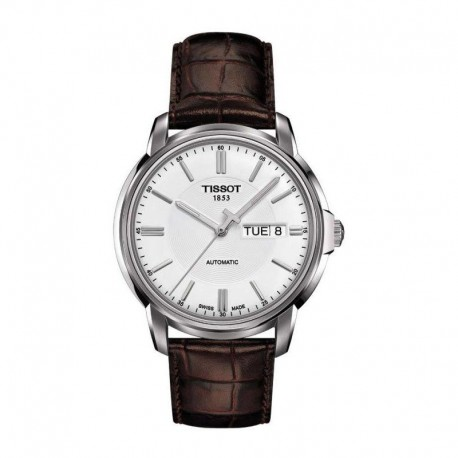 Tissot Automatic III White Dial Stainless Steel Mens Watch