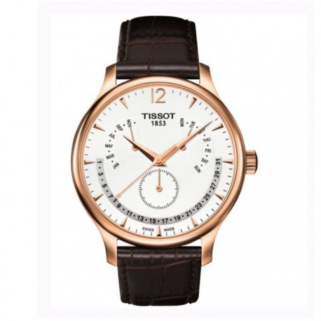 Tissot Tradition Perpetual Calendar Rose Gold-plated Mens Watch