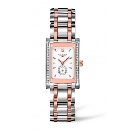 LONGINES DolceVita Two Tone Diamond Watch