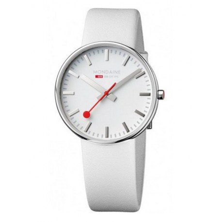 MONDAINE Giant White Watch