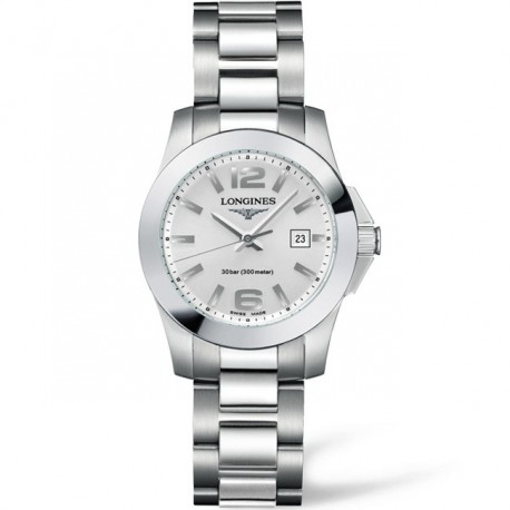 LONGINES Conquest Stainless Steel Ladies