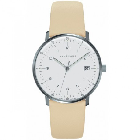 Junghans Max Bill Quartz Blue Strap