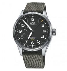 a9474ef9aa55 ORIS Big Crown Pro Pilot Automatic Black Dial ...