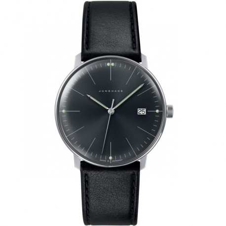 Junghans Max Bill Quartz Black Strap