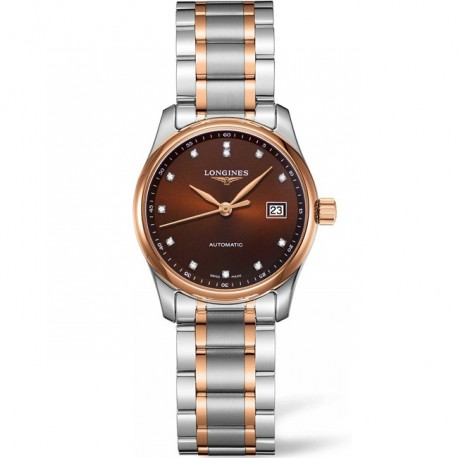 LONGINES Master Collection Date Two-Tone Ladies