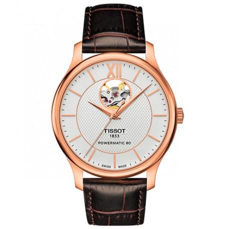 Tissot Tradition Powermatic 80 Open Heart T0639073603800
