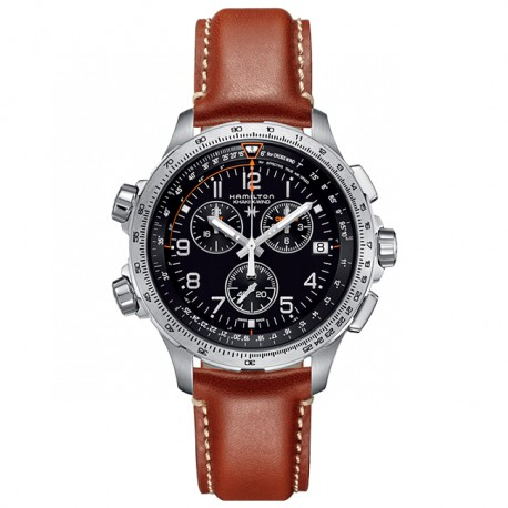 HAMILTON Khaki X-Wind Chrono Quartz GMT H77912535