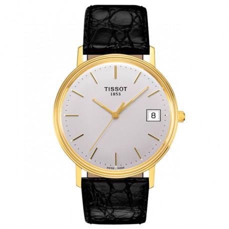 Tissot Goldrun Hesalite 18k Gold T71340131