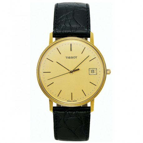 Tissot Goldrun Hesalite 18k Gold T71340121