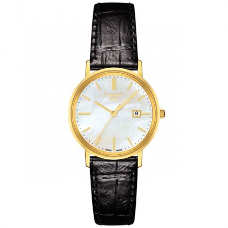 Tissot Goldrun Saphire 18K Gold T9222101611100