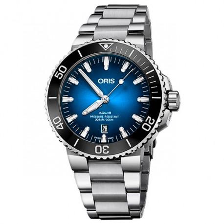 ORIS Aquis Date Clipperton Limited Edition 733 7730 4185 SET MB