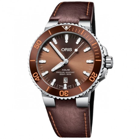 ORIS Aquis Date 733 7730 4152-07 5 24 12EB